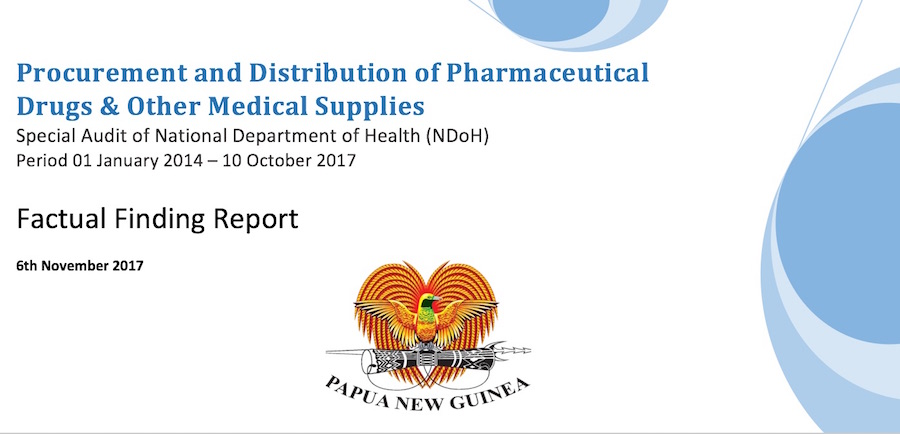 Govt stalling on medicine supply reform as death toll rises | PNGi