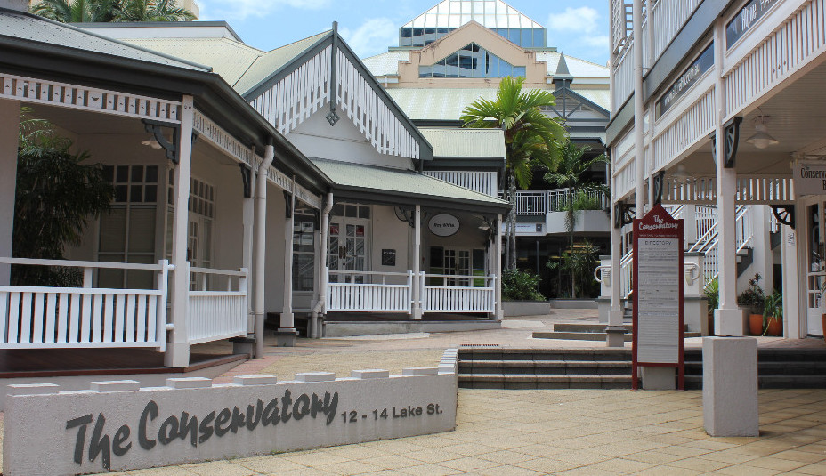 The Conservatory building at 12-14 Lake Street, Cairns